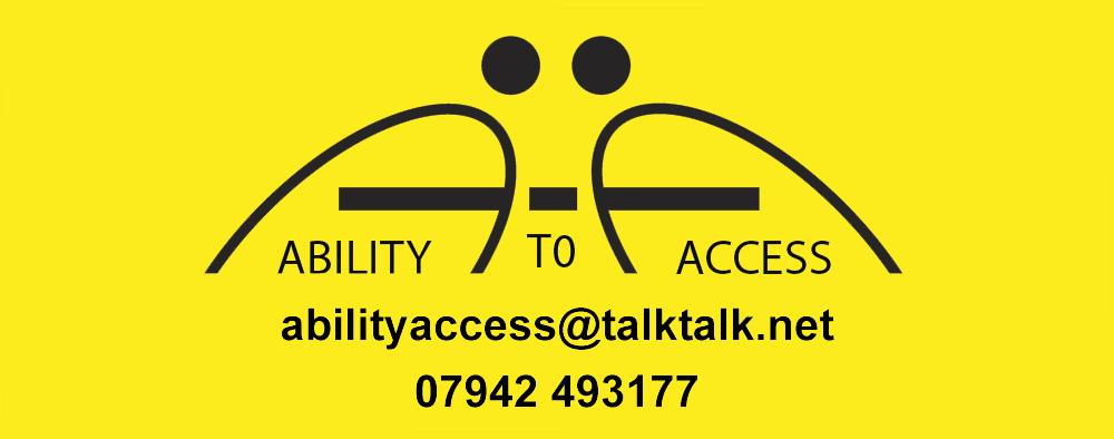 Ability to Access logo abilityaccess@talktalk.net 07942 493177